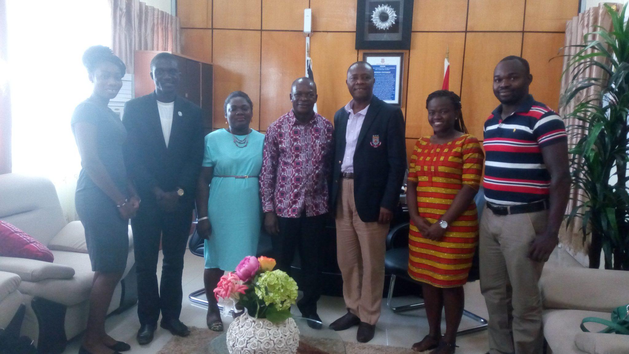 GRASAG Executives Pay Courtesy Call on Pro-Vice-Chancellor