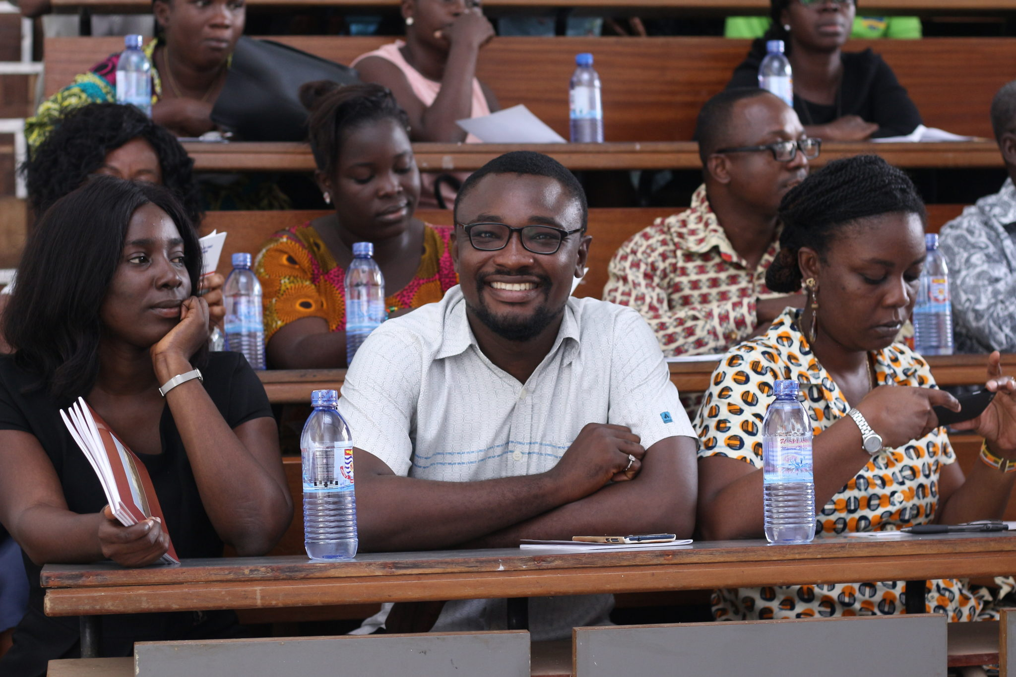 GRASAG UCC HOLDS ORIENTATION FOR FRESH REGULAR GRADUATE STUDENTS.