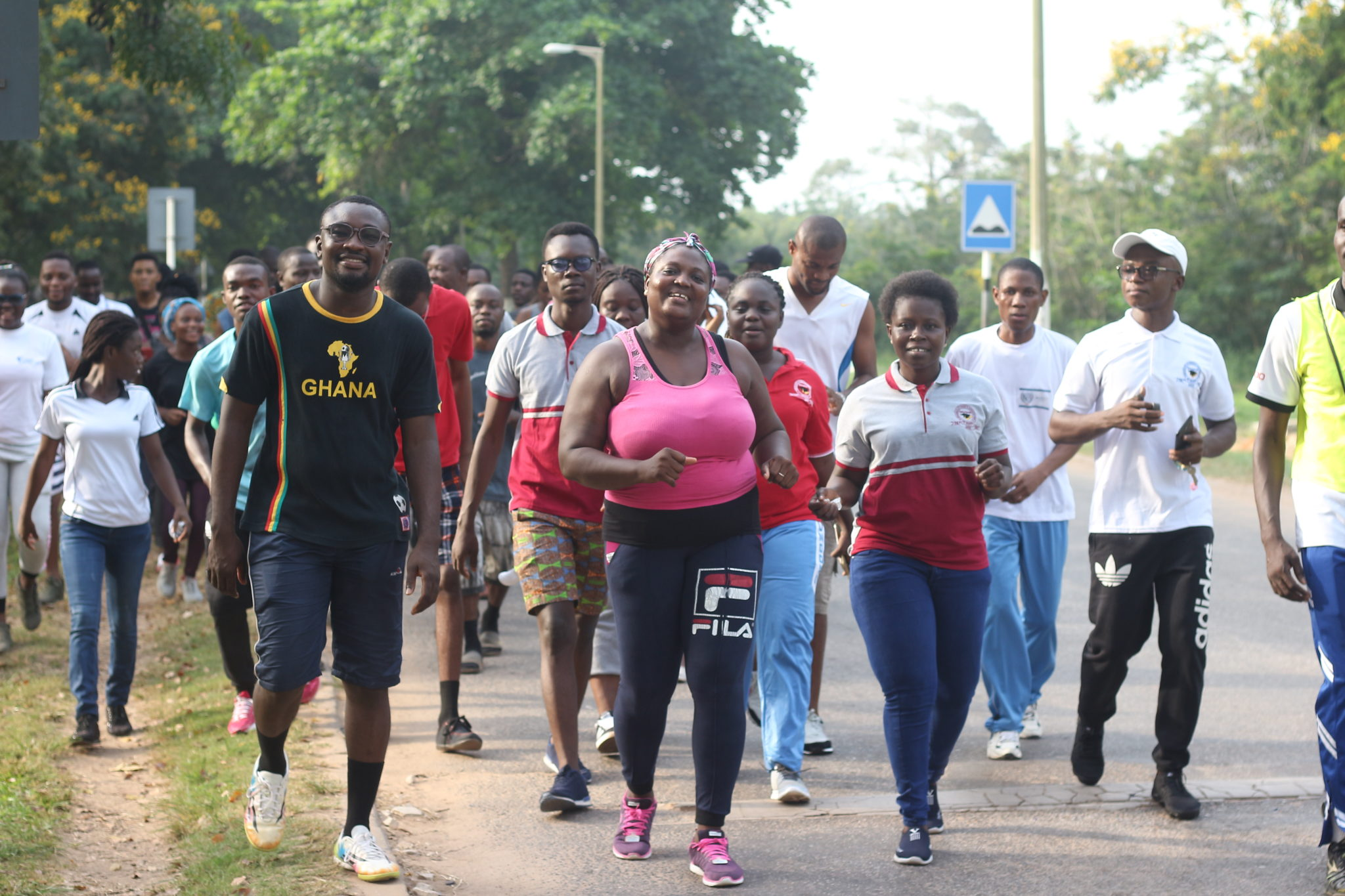 GRASAG UCC MARKS FARMERS DAY HOLIDAY WITH A HEALTH WALK AND AEROBICS